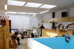 Rénovations à la Brasserie du Haut-Lac