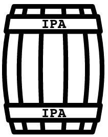 Fût de IPA - 20 litres