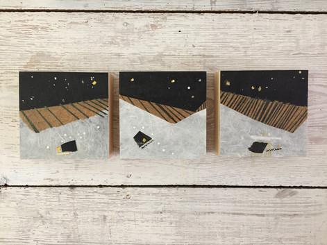 """Série """"Cubes"""" – Étale de nuit"""