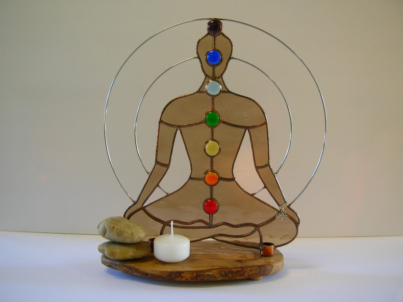 "Structure Bouddha 12"" X 9"""