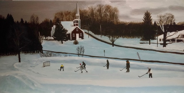 Georgeville with Skaters
