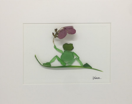 France Lessard_Frog0203_Seaglass_11x14_1