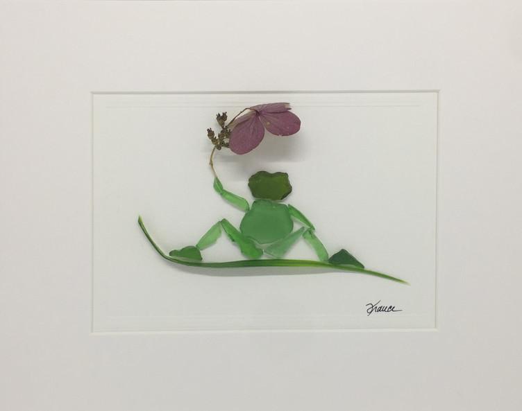 France Lessard_Frog0203_Seaglass_11x14_1