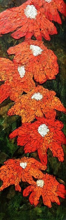 *VENDU* Fleurs Monarques