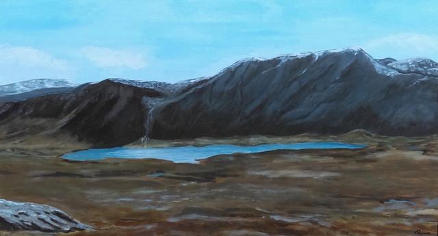 Foinavon and Loch Dionard, Scotland