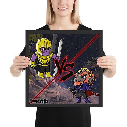 Thanos VS Ganondorf Framed