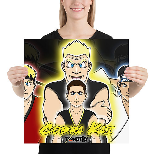 Cobra Kai Season 3 Finale Poster