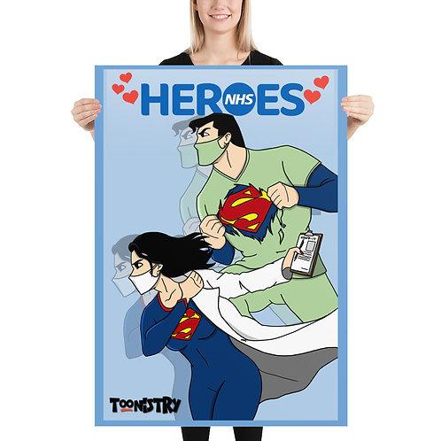 NHS Heroes Poster