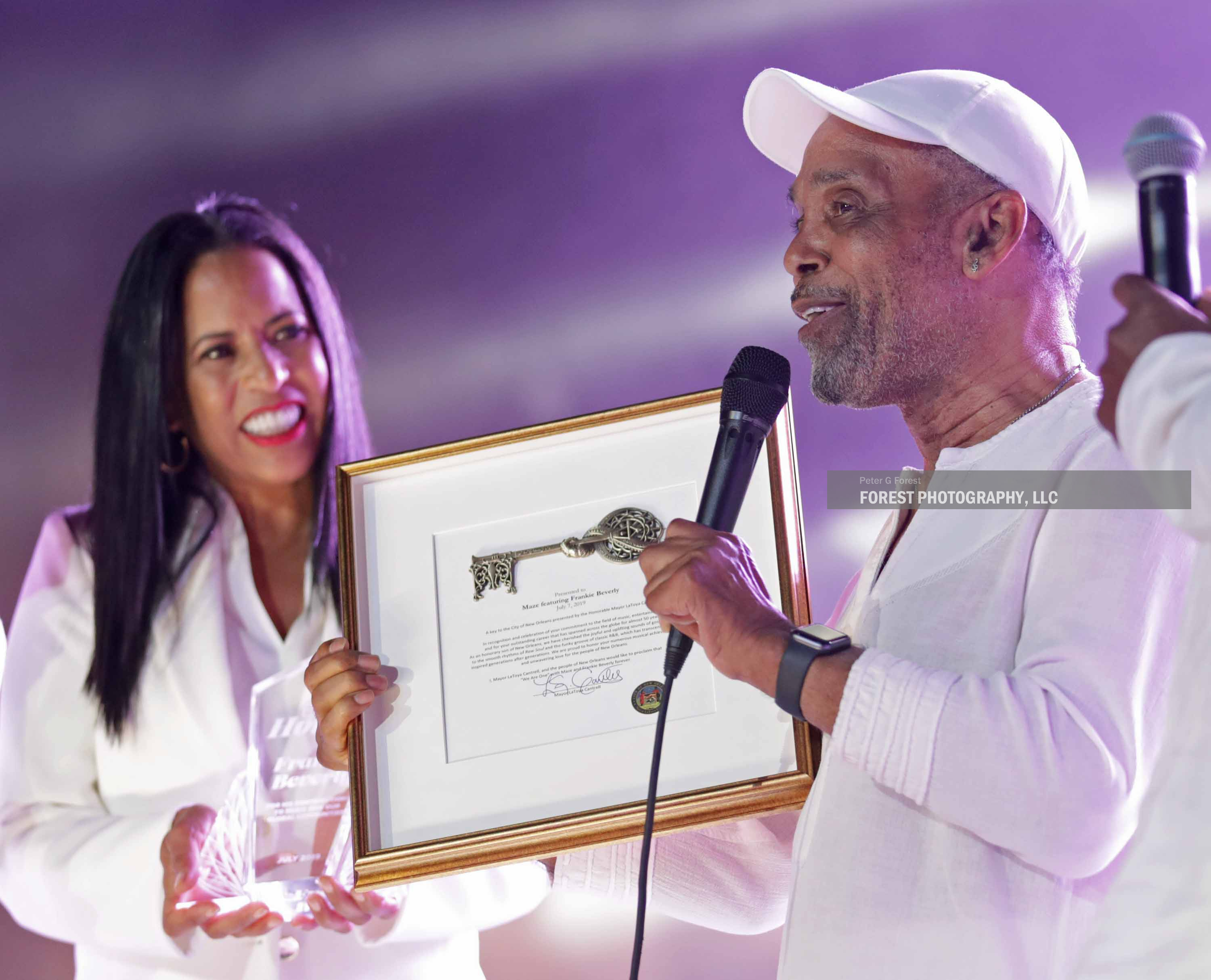 Michelle Eubanks - Frankie Beverly - Ess