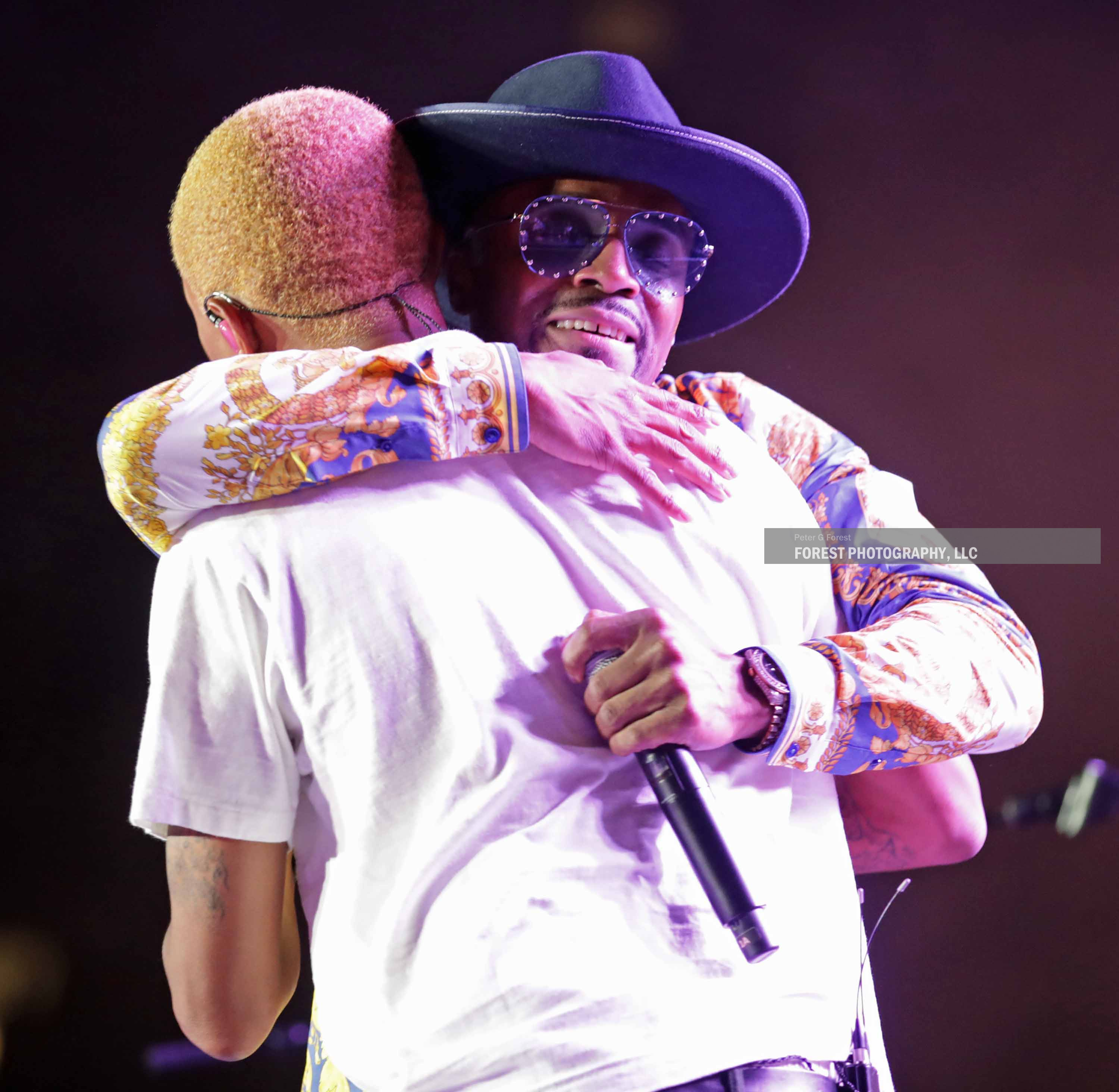 Pharrell Williams and Teddy Riley