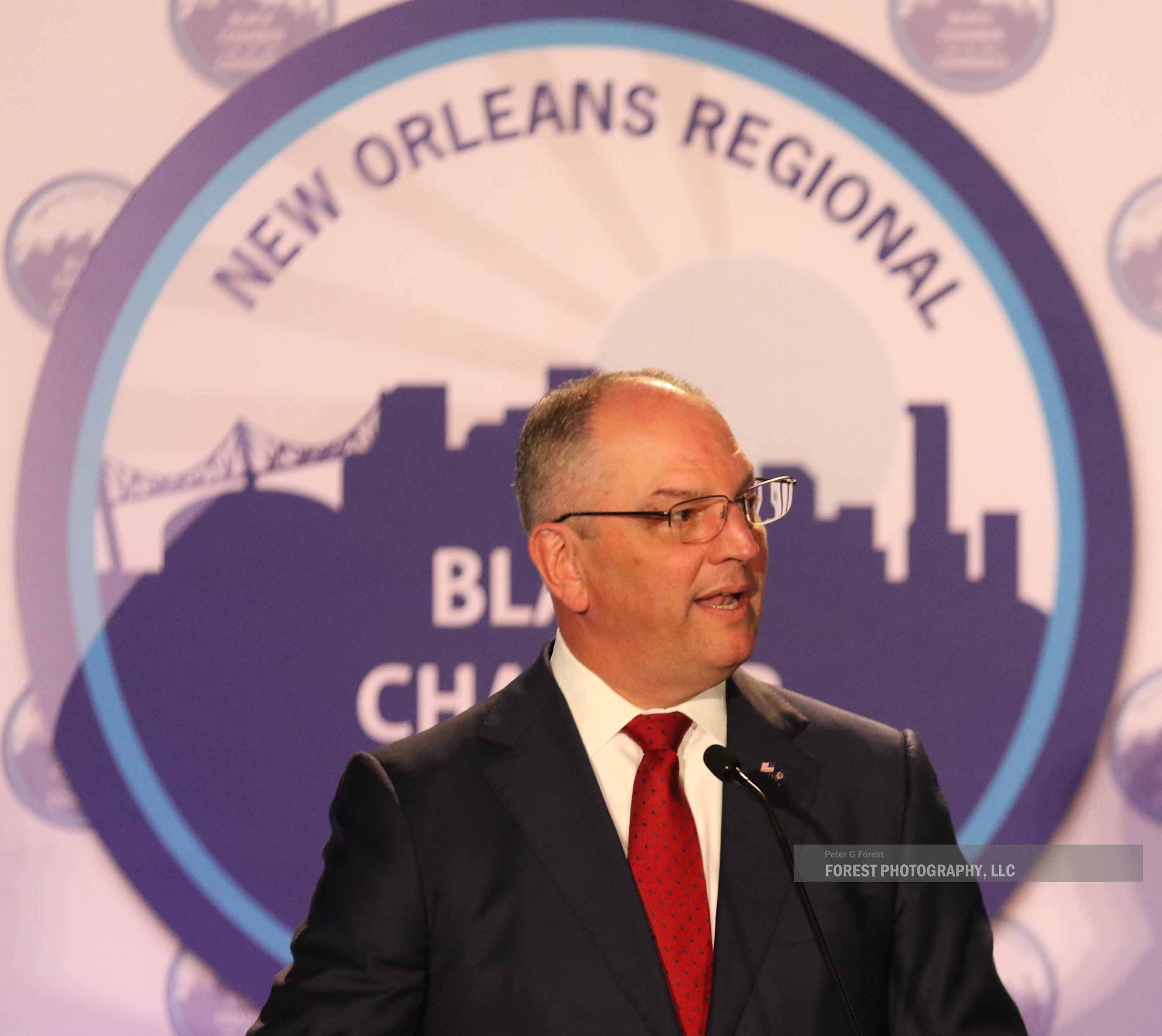 Governor John Bel Edwards - NORBCC