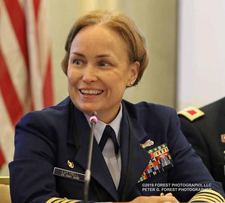 USCG Cpt. Kristi Luttrell