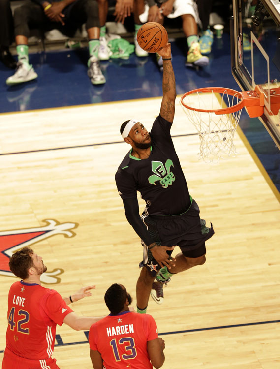 LeBron James - 2014 NBA All-Star