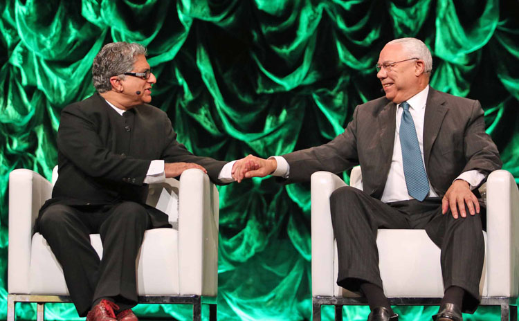 Deepak Chopra - Colin Powell
