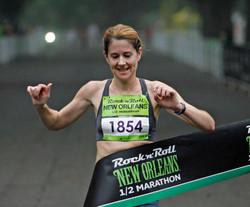 Rock N Roll Marathon Female Winner