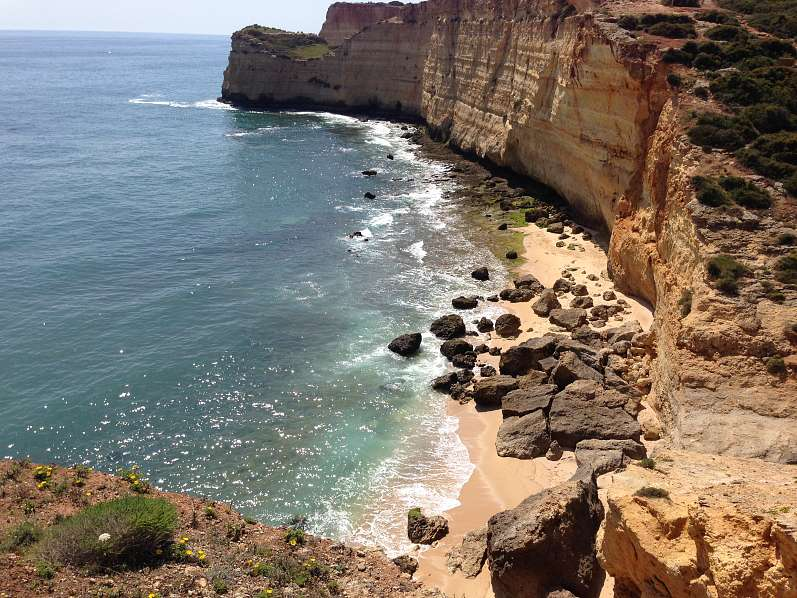 10) Praia do Vale da Lapa