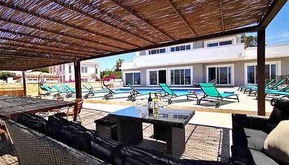 Large Carvoeiro Rentals heated pool