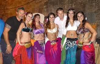 Pac4Portugal Team with Oriental Dancers