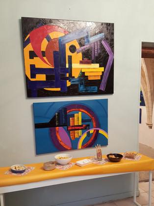 vernissage expo Michel Hadjab