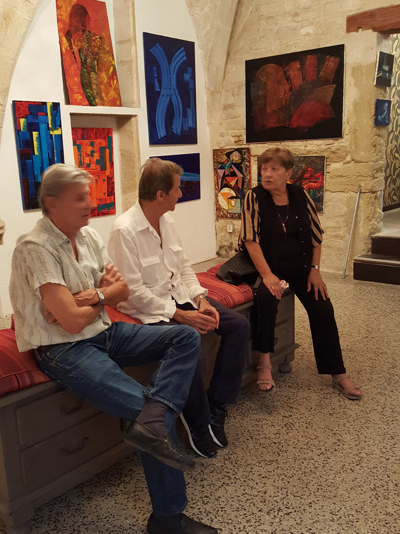expo tableaux Michel Hadjab