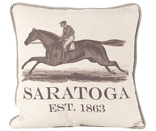 Linen Pillow Saratoga