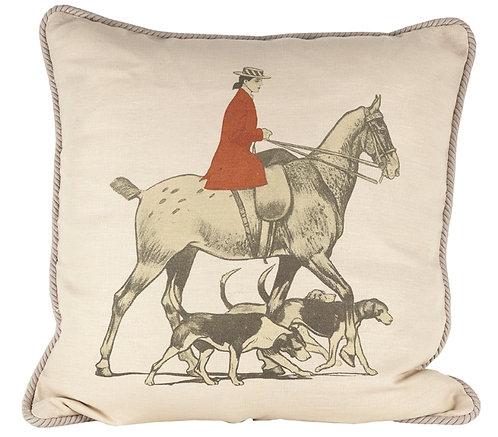 Linen Sidesaddle Pillow