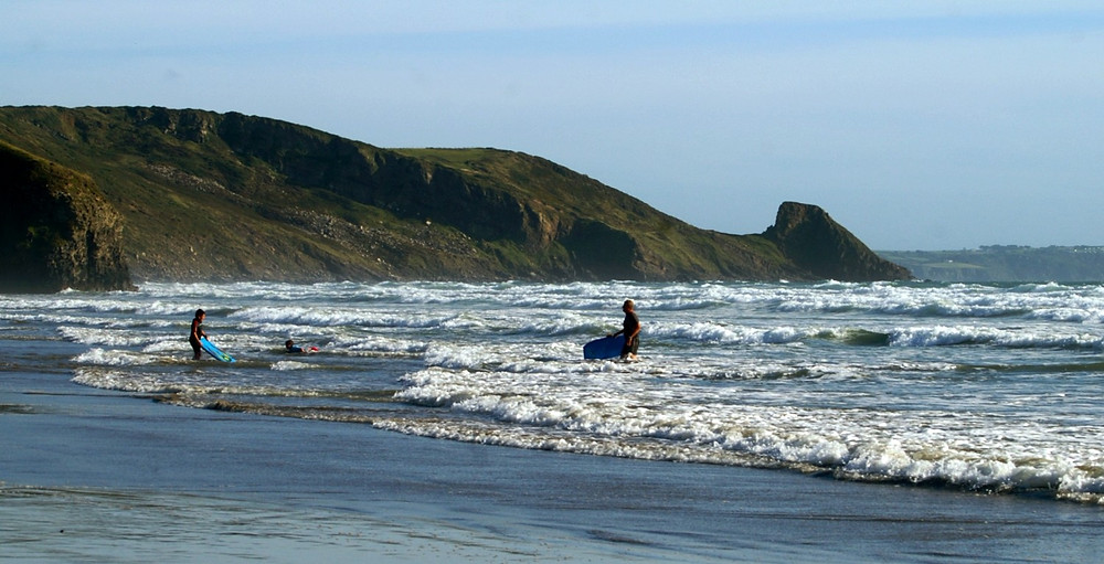 Newgale surf beach