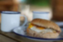 Camping & Glamping Holidays - Breakfast in the Dutch Ban