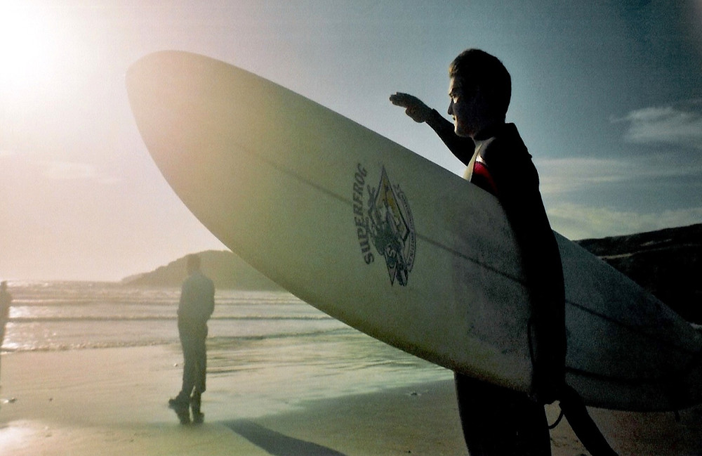 Pembrokeshire surfing