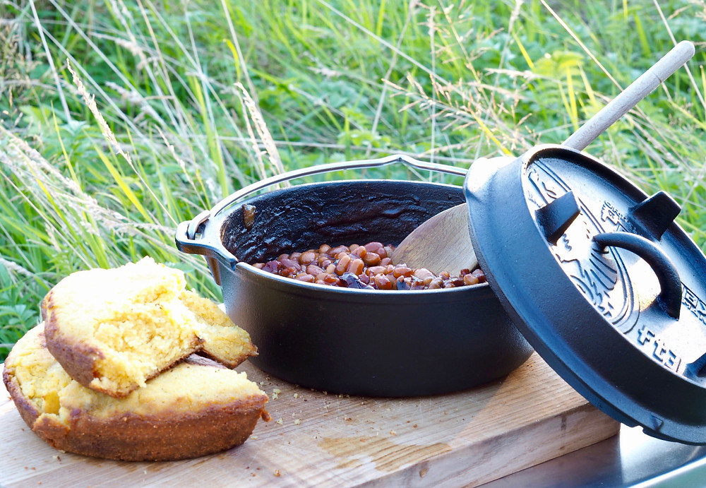 The Dutch Oven is so versatile which is why we also supply them in our Glamping Pioneer Camps!