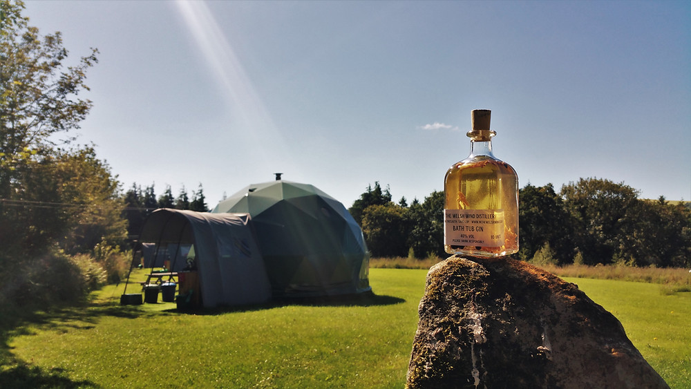 Top of the Woods eco glamping camping holidays Pembrokeshire Wales UK - Wild Gin Weekends
