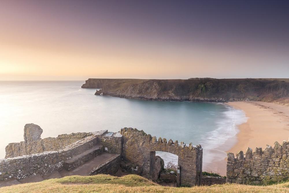 Barafundle Bay - Pembrokeshire,  Wales, UK