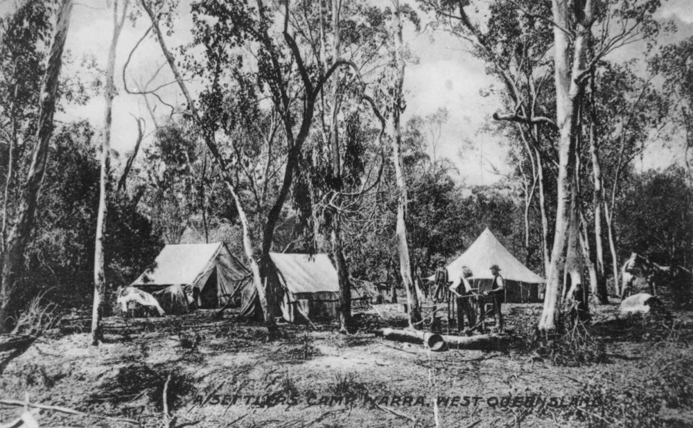 Settler camps, Austrailia