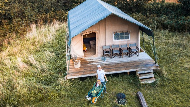 Top of the Woods - Eco Camping & Glamping - Pembrokeshire - Wales UK - Eco Boutique Safari Lodge - Kingit
