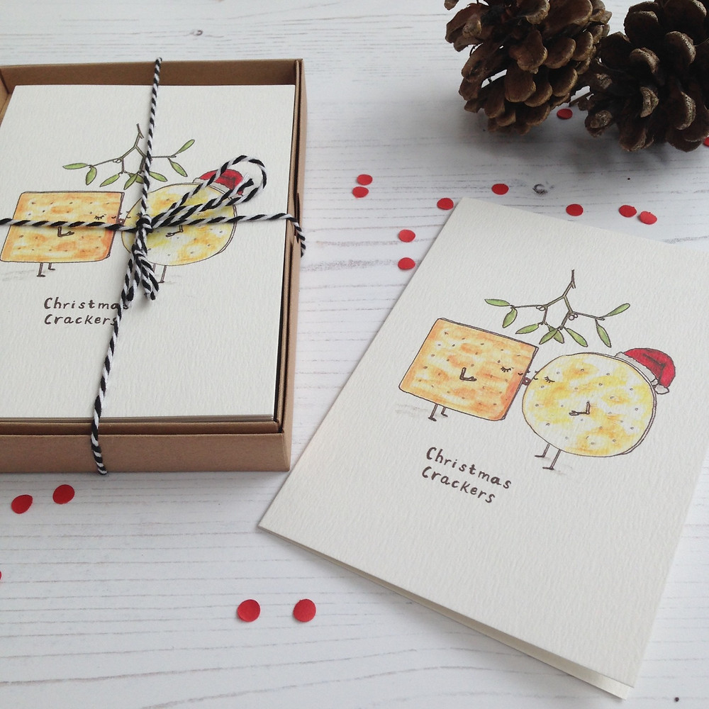 These Christmas cards from Western Sketch are brilliant!