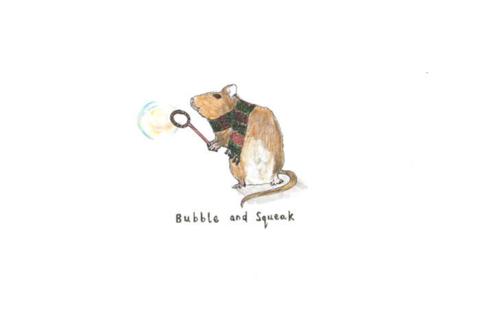 Bubble and Squeak! We love puns and these cute nature inspired illustrations