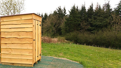 Top of the Woods Camping & Glamping Holiday – Pembrokeshire – Wales - UK  - Compost Toilet