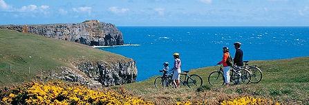 Top of the Woods Camping & Glamping Holiday – Pembrokeshire – Wales - UK - Cycling holiday