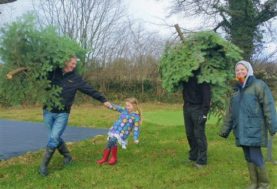 Picking out your Christmas or Yule Tree can be a fantastic family activity