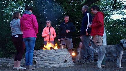 Top of the Woods Camping & Glamping Holiday – Pembrokeshire – Wales - UK  - Social - Campfire