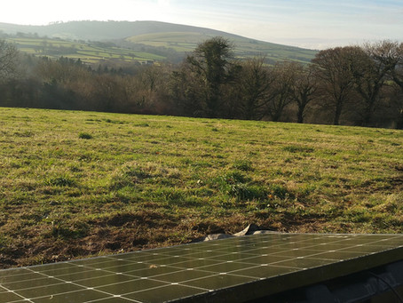 Installing Solar at Top of the Woods - Work Diary Dec 2016