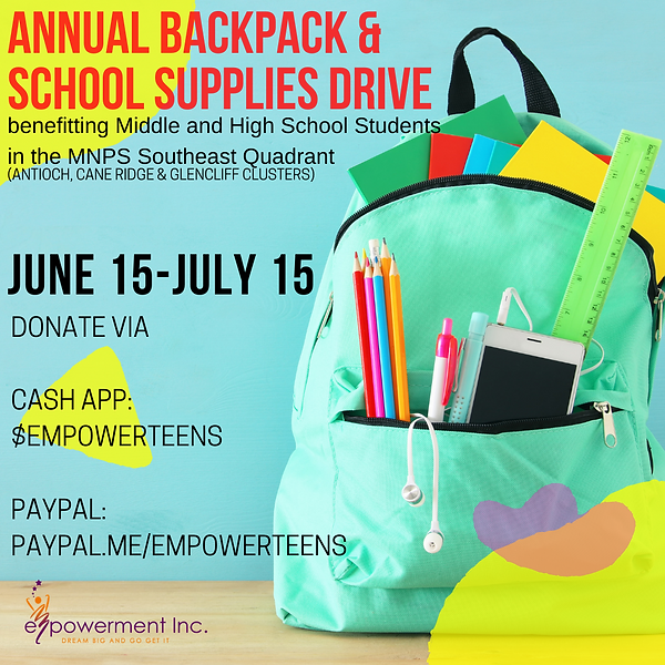 Annual Backpack and School Supplies Driv