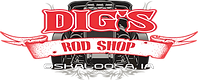 Dig's Rod Shop logo Oskaloosa, Iowa