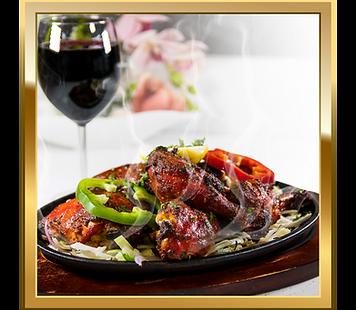 Tandoor Indian Cuisine Chicken Tandoori Dish