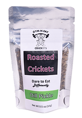 Gym-N-Eat Crickets Dry Roasted Crickets