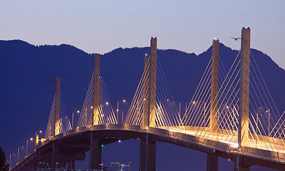ICC Canada project Golden Ears Bridge photo