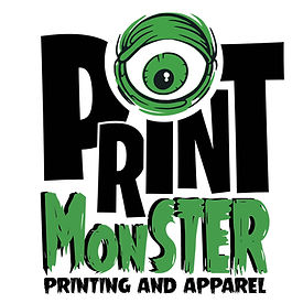 Print Monster Printing and Apparel logo Des Moines, Iowa