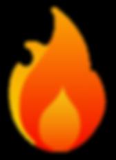 Tandoor Indian Cuisine flame logo