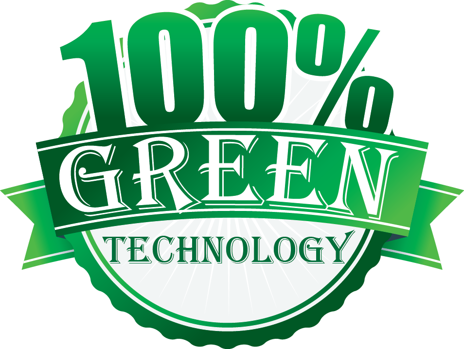 100% green technology