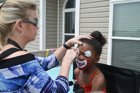 face painter in des moines